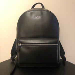 {Michael Kors} Harrison Leather Men's Backpack